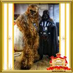 Чубакка и Дарт Вейдер Звёздные войны в Москве фото