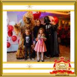 Чубакка и Дарт Вейдер Звёздные войны в Москве на праздник заказать