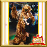 Изображение Чубакка Звёздные войны в Москве на праздник заказать - Люди X