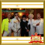 Двойник Мэрилин Монро и Фредди Меркьюри в Москве с двойником Элвиса Пресли