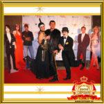 Двойник Лайзы Минелли и двойник Чарли Чаплина встреча гостей праздник ювелирный дом ЭСТЕТ