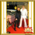 Двойник Элвис Пресли встреча гостей праздник ювелирный дом ЭСТЕТ