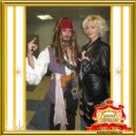 Двойник Мерилин Монро и Двойник капитана Джека Воробья фото