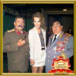 Двойник Брежнева и Сталина на свадьбу юбилей корпоратив и Новый год