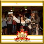 Фото - Двойник капитана Джека Воробья на пиратской вечеринке в Москве