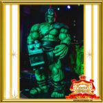 Халк на Вечеринке Супергероев в Москве фото