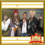 Двойник Капитана Джека Воробья в Москве на вечеринке фото