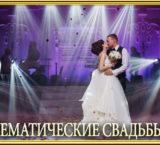 Лучшие идеи и шоу программы для проведения тематической свадьбы