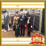 Двойник Лайзы Минелли и двойник Чарли Чаплина в Москве встречают гостей