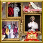 Двойник Мерилин Монро и Двойник Майкла Джексона клубное шоу вечеринка в ночном клубе на Halloween