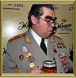 Двойник Брежнева и Горбачева