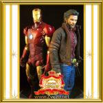 Двойник Росомахи и «Железный человек» Iron Man из Людей Х в шоу Звезды Голливуда