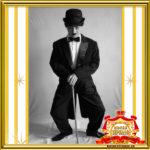 Заказать двойника Чарли Чаплина на праздник в Москве