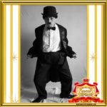 Двойник Чарли Чаплина в Москве фото