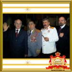 Двойник Ленина и Сталина на праздник в Москве